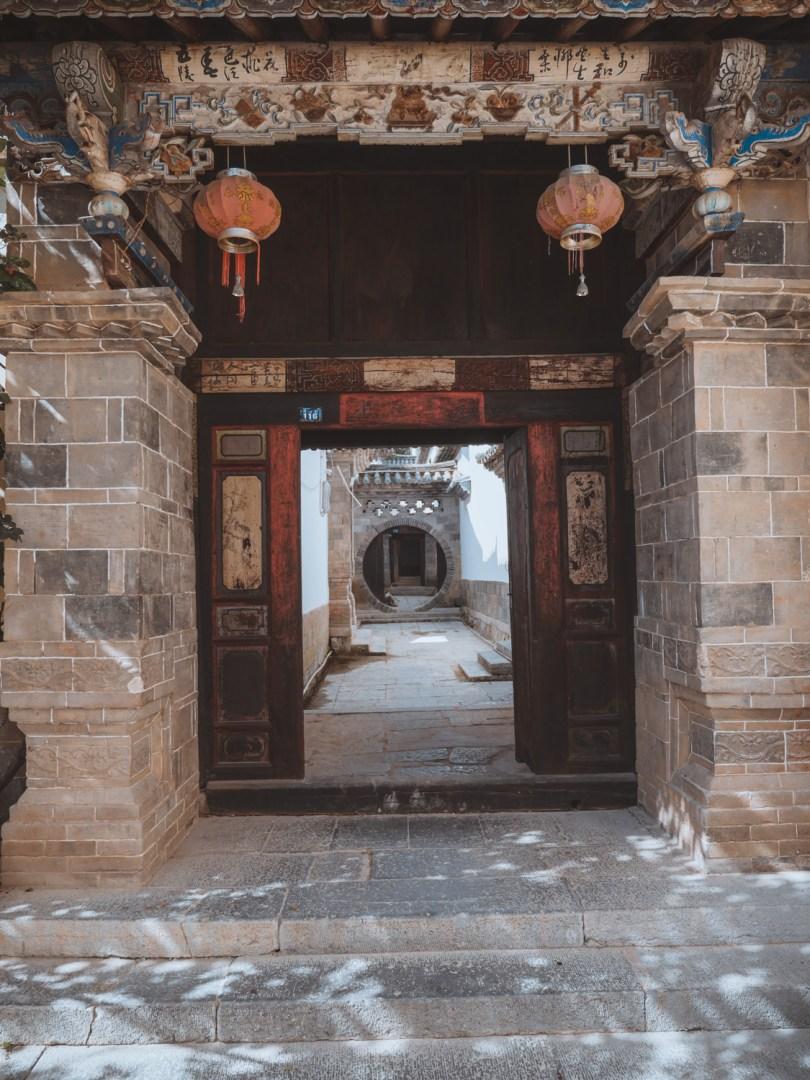 Village de tuanshan yunnan