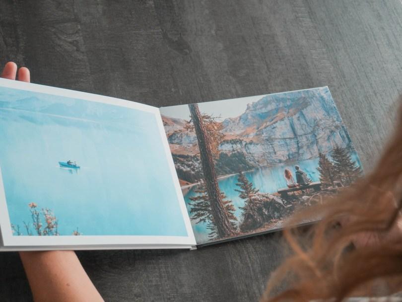 Create a travel photo book