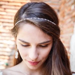 Headband Dentelli, argenté