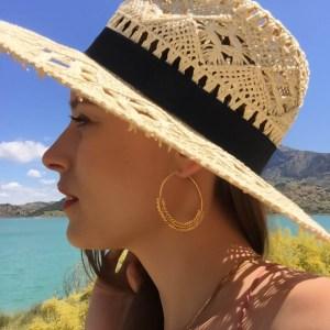 Boucles d'oreilles Andalouse