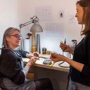apprentissage des gestes de l'artisan bijoutier