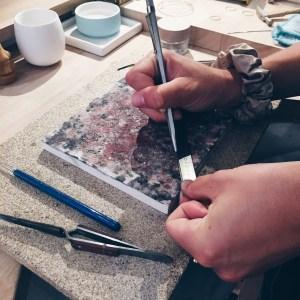 Atelier Jonc messager en laiton