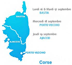 GRAITEC EN CORSE : du 16 au 20 septembre