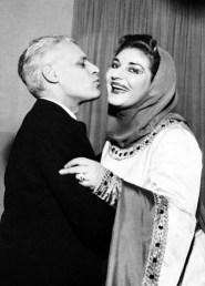 Maria Callas and Antonio Ghiringhelli, Macbeth, La Scala 1952