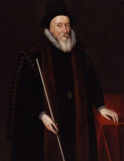 Thomas Sackville, 1st Earl of Dorset, Unknown artist, 1601 © National Portrait Gallery, London