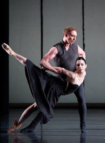 Bennet Gartside and Tamara Rojo in Liam Scarlett's Asphodel Meadows