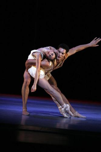 Fabrice Calmels with Victoria Jaiani in Edwaard Liang's Age of Innocence - Photo by Herbert Migdoll