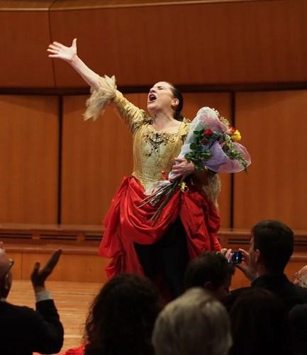 Cecilia Bartoi Rome 2013