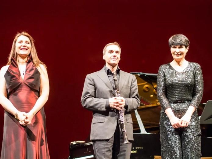 Barbara Frittoli,Mzia Bakhtouridze & Fabrizio Meloni
