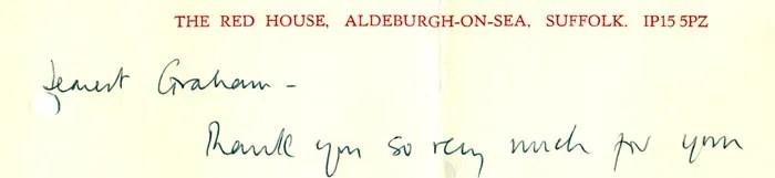 Red House letterhead