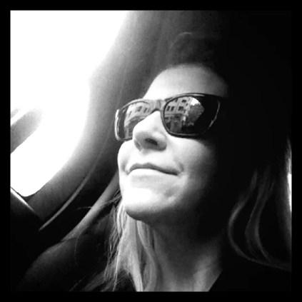 Joyce DiDonato on a plane