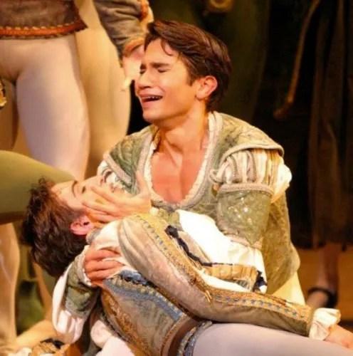 Yosvani Ramos Romeo and Juliet with the English National Ballet