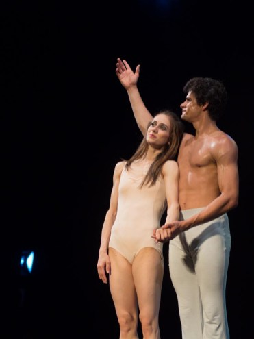Marianela Nunez and Thiago Soares in Wheeldon's After the Rain