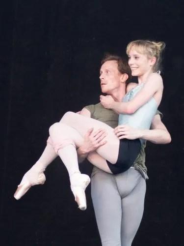 Sarah Lamb and Edward Watson in McGregor's Qualia