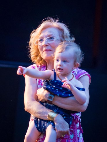 Baby Maia with Mamma