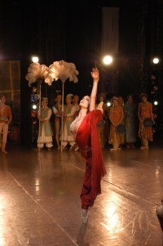 Jurgita Dronina in Bayadere photo by Serguei Endinian