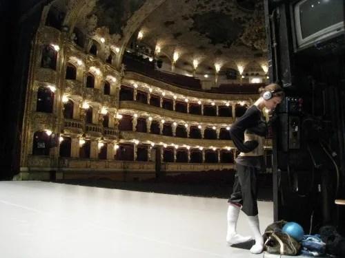 Jurgita Dronina in the Praque State Theater by Serguei Endinian