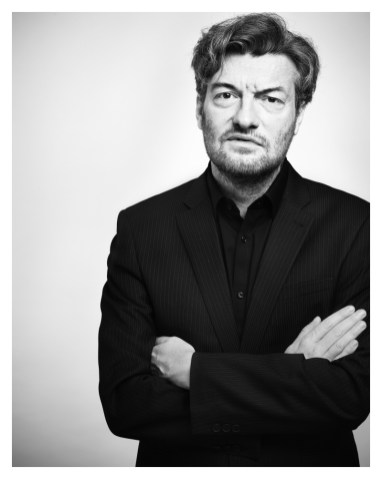 Charlie Brooker by Chris Floyd, 2012