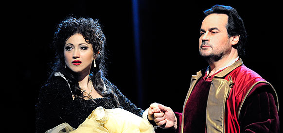 Desirée Rancatore in I Puritani with Josè Bros, Vienna 2010