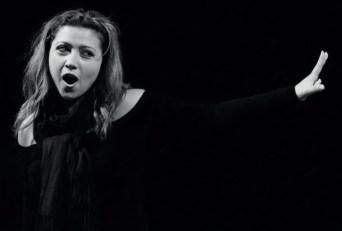 Desirée Rancatore rehearsing