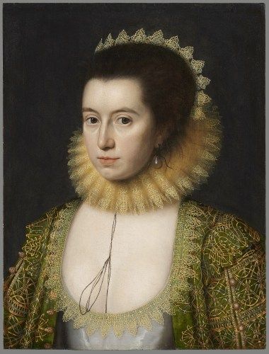 Lady Anne Clifford by William Larkin, 1618 © National Portrait Gallery, London