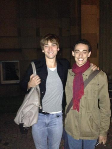 Zach with Friedemann Vogel after Made in Germany