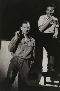 Benjamin Britten with Sir Frederick Ashton