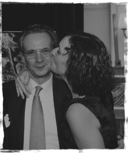 Fabio Luisi with his wife, Barbara