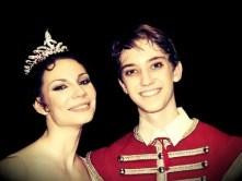 Julian MacKay with Maria Alexandrovna