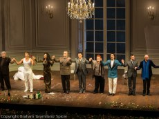The cast of La Traviata