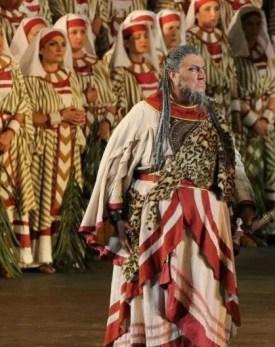 Ambrogio Maestri in Aida (1913 production) Verona Arena