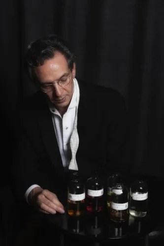 Fabio Luisi and his FL Parfums - photo by Barbara Luisi