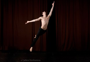 Vincent Chaillet, premier danseur à l'Opéra de Paris