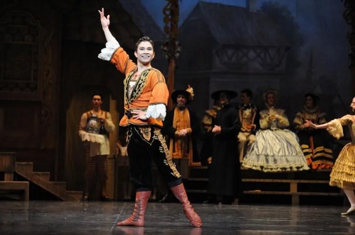 Yosvani Ramos in the Australian Ballet's 'Coppélia' ©Branco Gaica