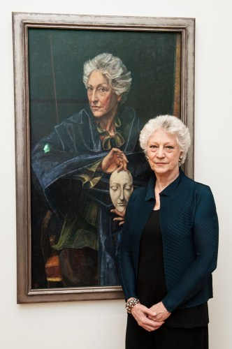 Dame Monica Mason and portrait