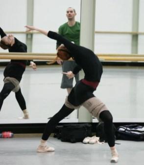 Elena Vostrotina during class