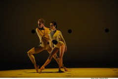 Adam Bull in Wayne McGregor's DYAD 1929 with Amber Scott - photo Branco Gaica