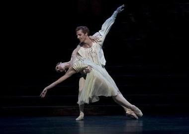 Evgenia Obraztsova and Steven McRae in Romeo & Juliet