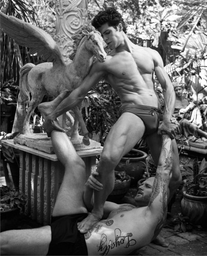 Roberto Bolle by Bruce Weber - Vanity Fair