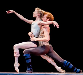 Sarah Lamb & Steven McRae rehearse Alastair Marriott's In the Hot-house
