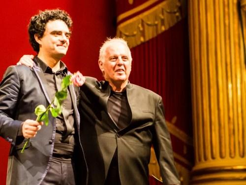 Rolando Villazón and Daniel Barenboim at La Scala, 2014