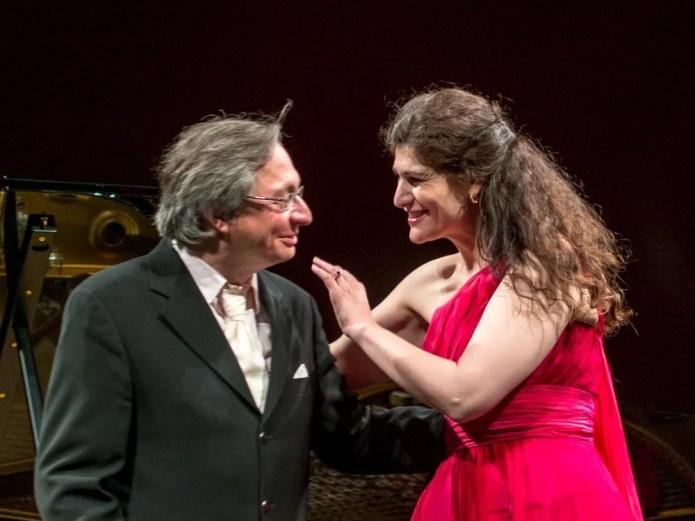 Anja Harteros with Wolfram Rieger, La Scala 2014