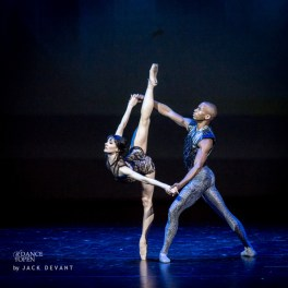 Melissa Hamilton and Eric Underwood in Wayne McGregor's Raven Girl, 2014