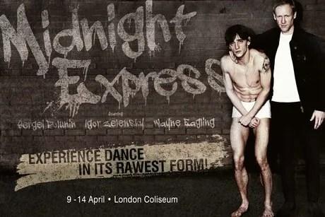 Sergei Polunin and Igor Zelensky on the Midnight Express poster