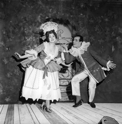 Fiorenza Cossotto & Luis Alva - La scuola delle mogli, La Scala 1959