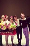 Krasnodar Gala with Marfa Sidorenko (first place jr girls), Grand Prix seniors and silver medalist.