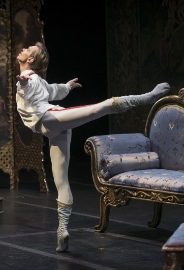 Luis Ortigoza as Prince Rudolph in Mayerling by Kenneth MacMillan