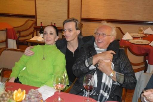Marcia Haydée, Luis Ortigoza and Iván Nagy