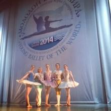Sochi with my Course IIA classmates,and their Bolshoi teacher, Tatyana Galtseva