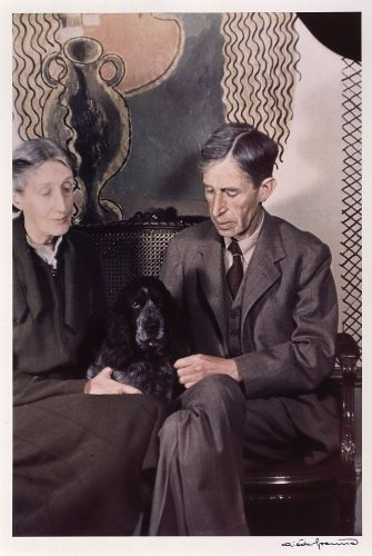 Virginia and Leonard Woolf by Gisele Freund, 1939 - Copyright: Estate Gisèle Freund / IMEC Images
